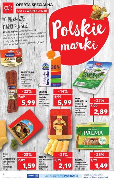 Gazetka promocyjna Kaufland, ważna od 17.01.2019 do 23.01.2019.