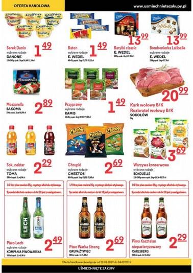 Gazetka promocyjna Uśmiechnięte Zakupy, ważna od 22.01.2019 do 04.02.2019.