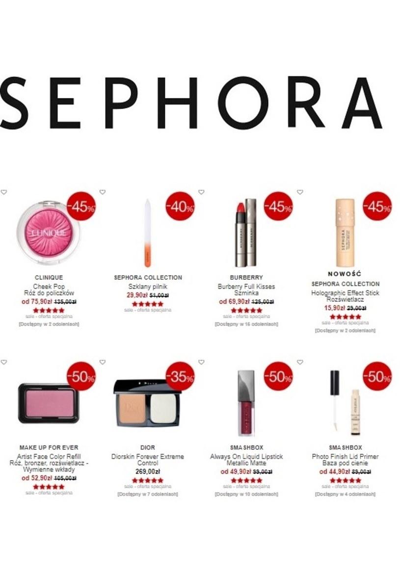 Sephora: 1 gazetka