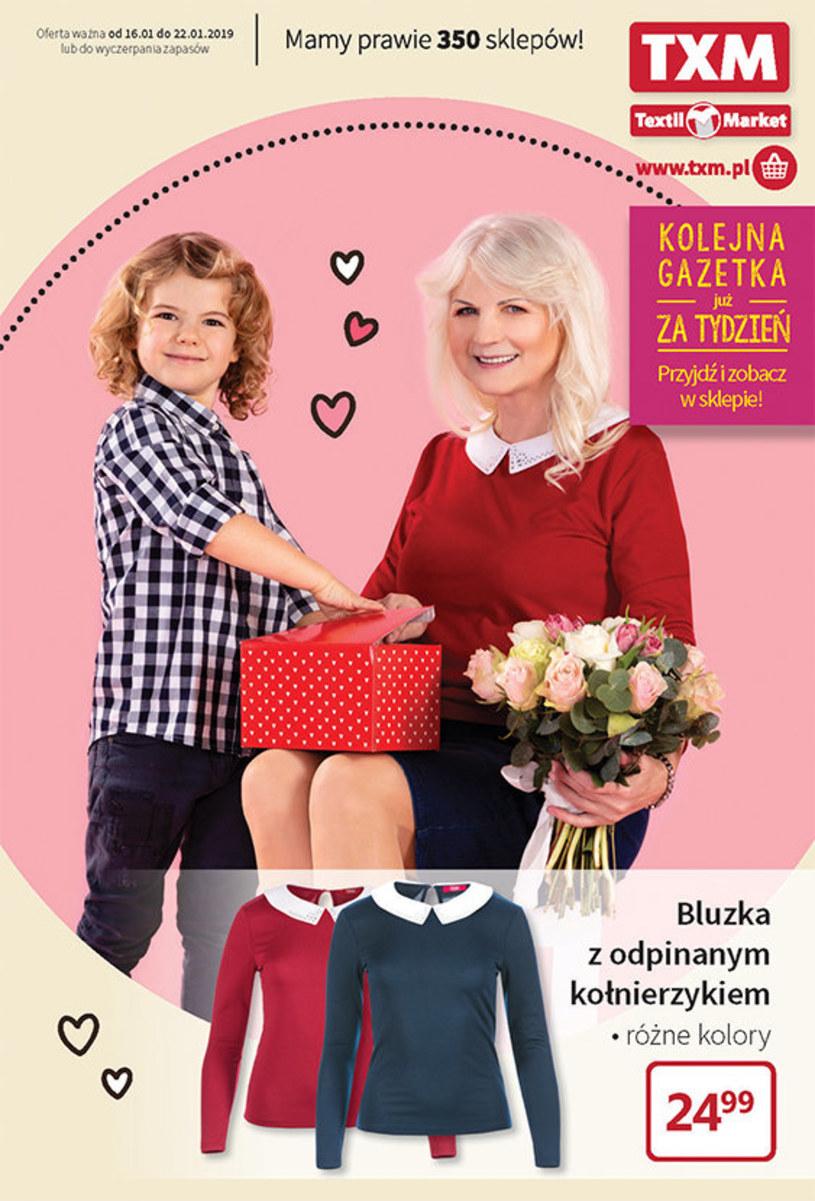 Gazetka promocyjna Textil Market - ważna od 16. 01. 2019 do 22. 01. 2019