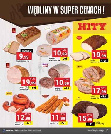 Gazetka promocyjna Twój Market, ważna od 16.01.2019 do 22.01.2019.