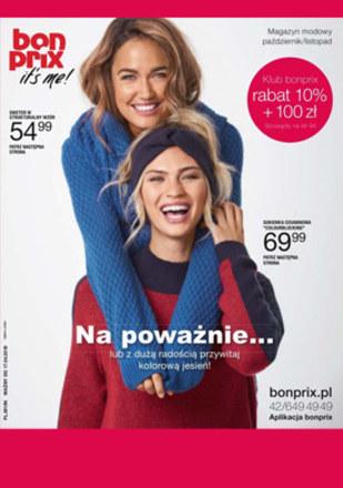 Gazetka promocyjna BonPrix, ważna od 18.10.2018 do 17.04.2019.