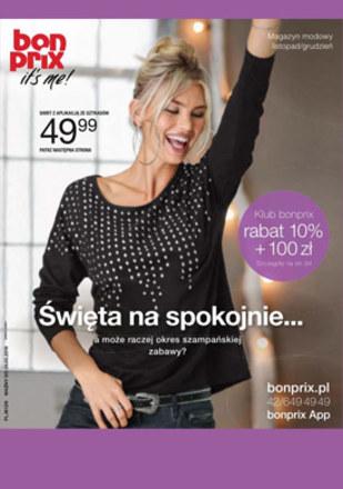 Gazetka promocyjna BonPrix, ważna od 27.11.2018 do 26.05.2019.