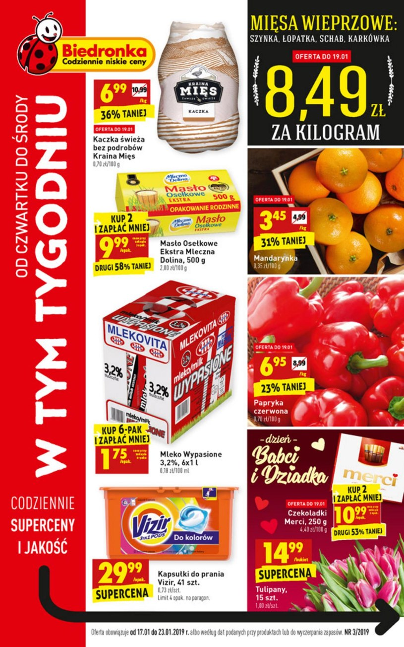 Gazetka promocyjna Biedronka - ważna od 17. 01. 2019 do 23. 01. 2019