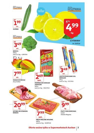 Gazetka promocyjna Auchan, ważna od 17.01.2019 do 23.01.2019.