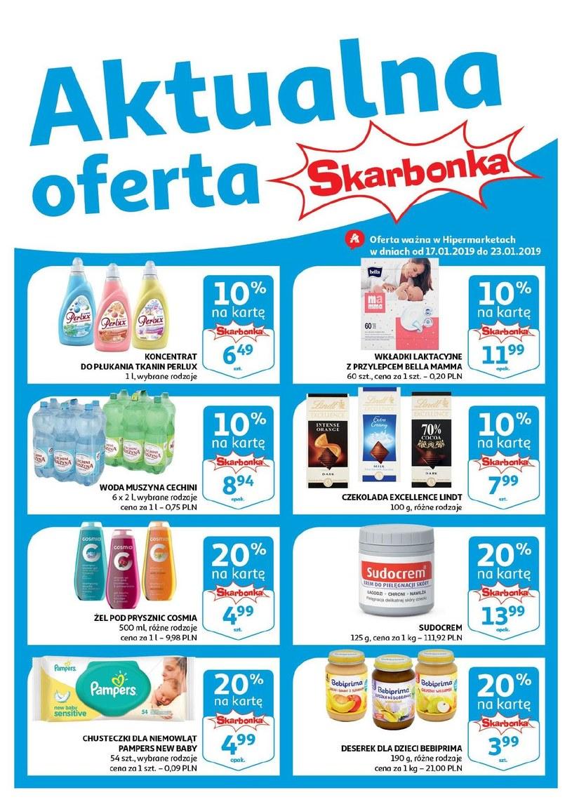 Gazetka promocyjna Auchan - ważna od 17. 01. 2019 do 23. 01. 2019