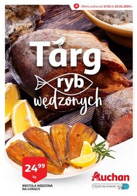 Gazetka promocyjna Auchan - Targ ryb wędzonych