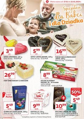 Gazetka promocyjna Auchan - Specjalnie dla Babci i dla Dziadka