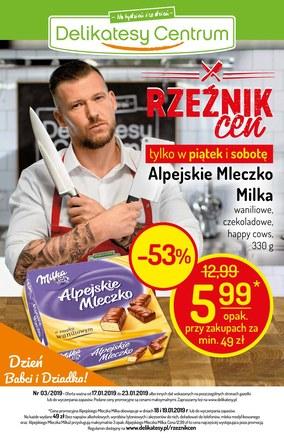 Gazetka promocyjna Delikatesy Centrum, ważna od 17.01.2019 do 23.01.2019.