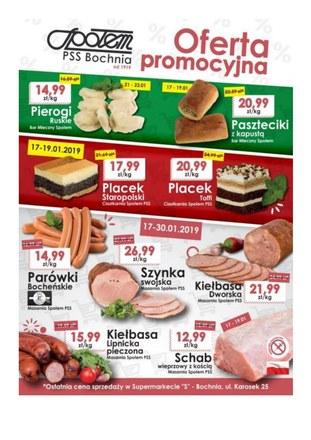 Gazetka promocyjna PSS Bochnia, ważna od 17.01.2019 do 23.01.2019.