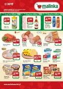 Gazetka promocyjna MALINKA Market - Gazetka promocyjna  - ważna do 30-01-2019