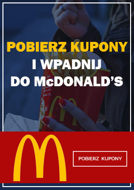 Gazetka promocyjna McDonald's - Kupony rabatowe