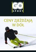 Gazetka promocyjna GO Sport - Ceny zjeżdżają w dół  - ważna do 31-01-2019