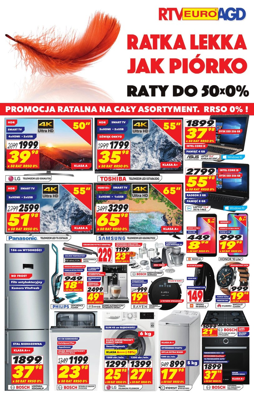 RTV EURO AGD: 2 gazetki