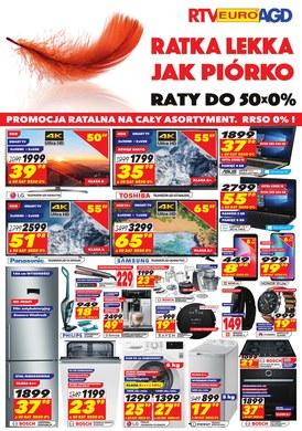 Gazetka promocyjna RTV EURO AGD - Rata lekka jak piórko