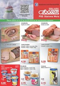 Gazetka promocyjna PSS Stalowa Wola - Oferta handlowa  - ważna do 03-02-2019