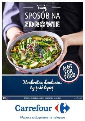 Gazetka promocyjna Carrefour - Twój sposób na zdrowie