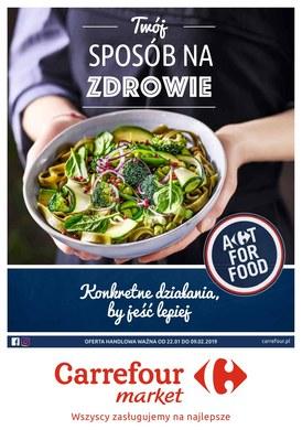 Gazetka promocyjna Carrefour Market - Twój sposób na zdrowie