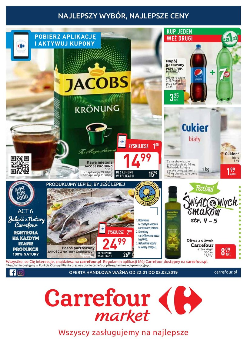 Carrefour Market: 4 gazetki