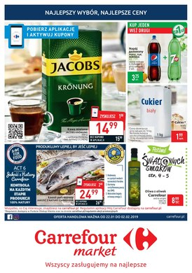 Gazetka promocyjna Carrefour Market - Wszyscy zasługujemy na najlepsze