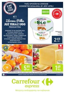 Gazetka promocyjna Carrefour Express - Act for food