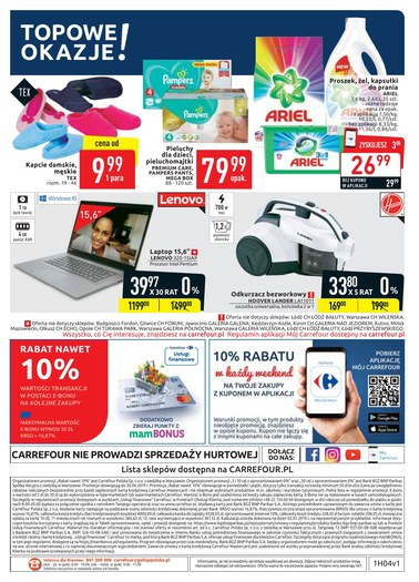 Gazetka promocyjna Carrefour, ważna od 22.01.2019 do 02.02.2019.