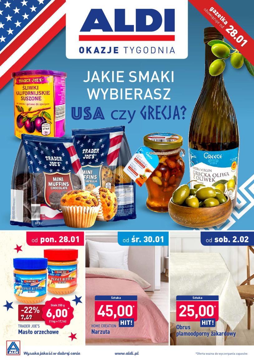Gazetka promocyjna Aldi - ważna od 28. 01. 2019 do 02. 02. 2019