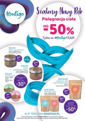 Gazetka promocyjna Kontigo - Pielęgnacja ciała do -50%