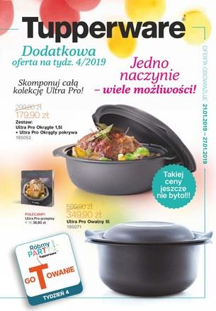 Gazetka promocyjna Tupperware, ważna od 21.01.2019 do 27.01.2019.