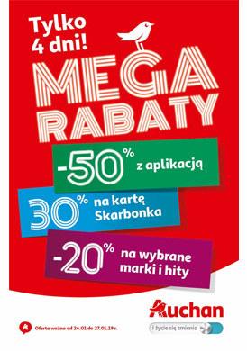Gazetka promocyjna Auchan - Mega rabaty