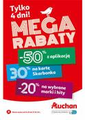 Gazetka promocyjna Auchan - Mega rabaty - ważna do 27-01-2019