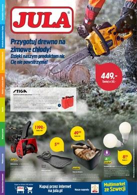 Gazetka promocyjna Jula - Przygotuj drewno na zimowe chłody