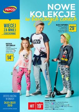 Gazetka promocyjna Pepco - Nowe kolekcje w bajecznych cenach