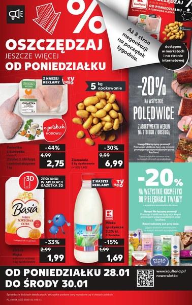 Gazetka promocyjna Kaufland, ważna od 24.01.2019 do 30.01.2019.