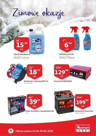 Gazetka promocyjna Auchan, ważna od 21.01.2019 do 29.01.2019.