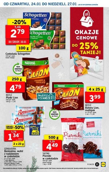Gazetka promocyjna Lidl, ważna od 24.01.2019 do 27.01.2019.