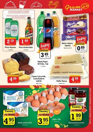 Gazetka promocyjna Gram Market, ważna od 23.01.2019 do 29.01.2019.