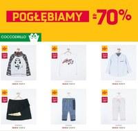 Gazetka promocyjna Coccodrillo - Pogłębiamy do -70%