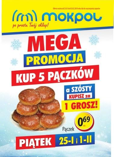 Gazetka promocyjna Mokpol, ważna od 23.01.2019 do 05.02.2019.