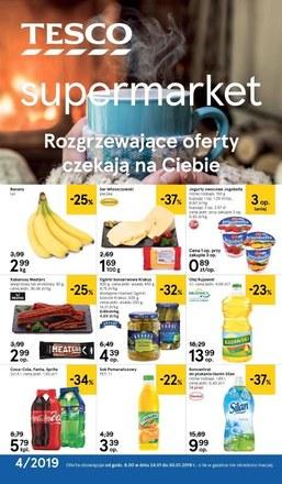 Gazetka promocyjna Tesco Supermarket, ważna od 24.01.2019 do 30.01.2019.