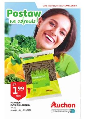 Gazetka promocyjna Auchan - Postaw na zdrowie!