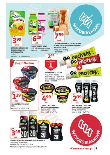 Gazetka promocyjna Auchan, ważna od 24.01.2019 do 30.01.2019.