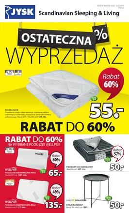 Gazetka promocyjna Jysk, ważna od 24.01.2019 do 06.02.2019.