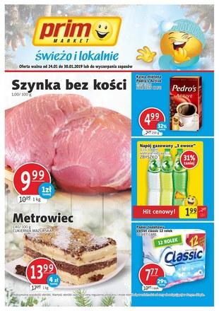 Gazetka promocyjna Prim Market, ważna od 24.01.2019 do 30.01.2019.