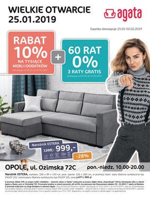 Gazetka promocyjna Agata , ważna od 25.01.2019 do 02.02.2019.