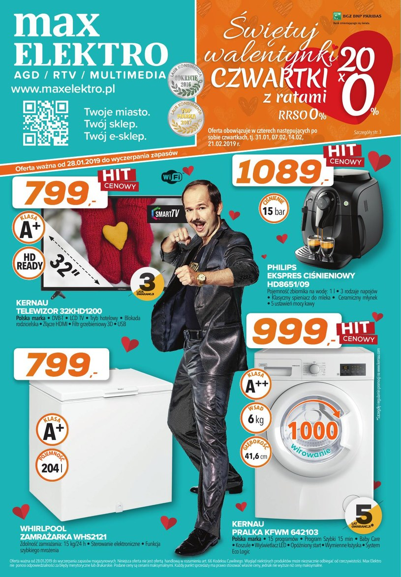 Max Elektro: 1 gazetka