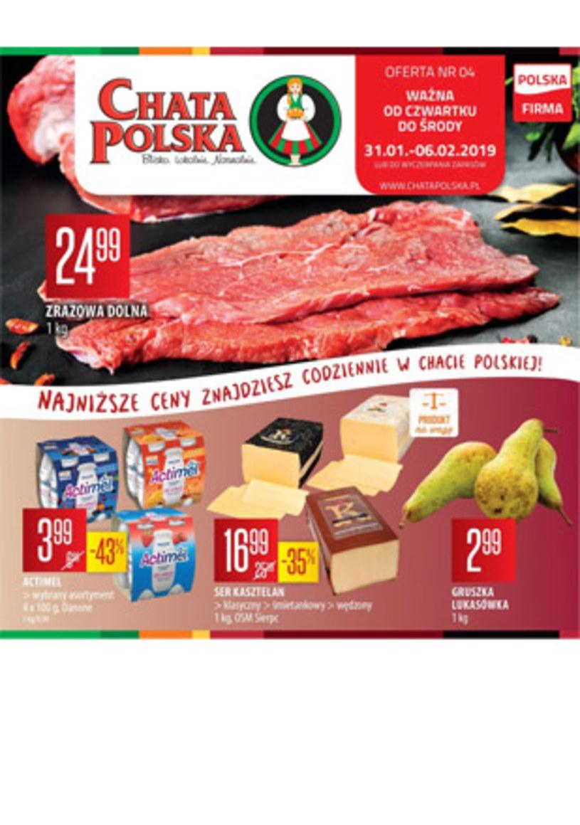 Gazetka promocyjna Chata Polska - wygasła 14 dni temu