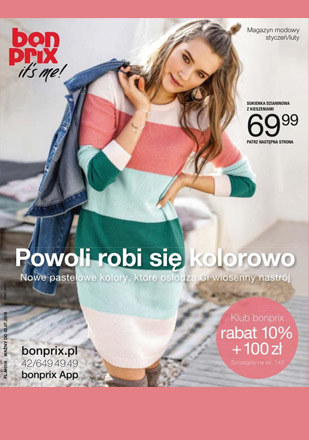 Gazetka promocyjna BonPrix, ważna od 02.01.2019 do 02.07.2019.
