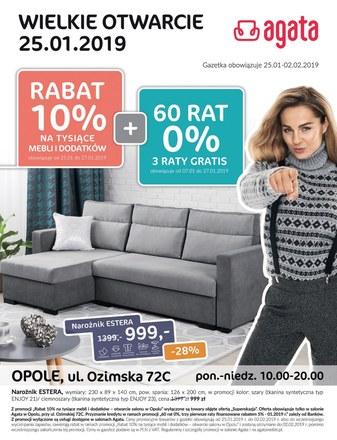 Gazetka promocyjna Agata , ważna od 31.01.2019 do 01.03.2019.