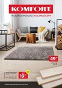 Gazetka promocyjna Komfort - Najlepsze podłogi, najlepsze ceny - ważna do 12-03-2019